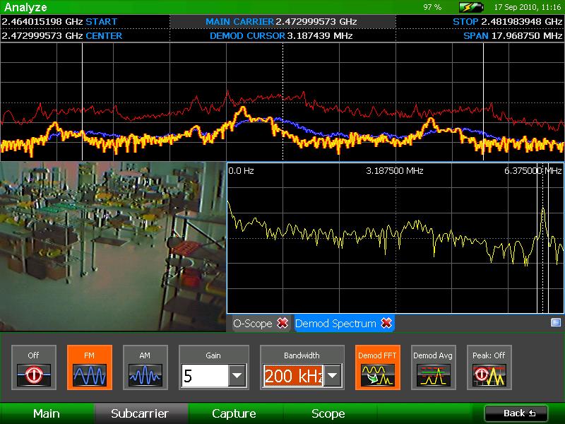 Анализатор спектра OSCOR Green