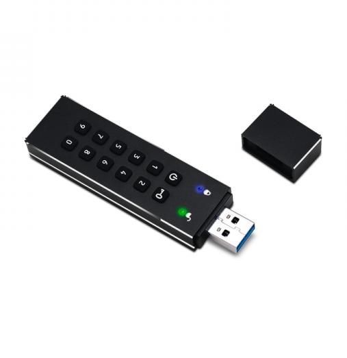 GuardDo Touche 8 GB USB 2.0 защищенный флеш-накопитель с аппаратным шифрованием данных
