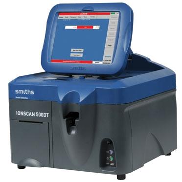 Детектор взрывчатых и наркотических веществ Анализатор IONSCAN 500DT