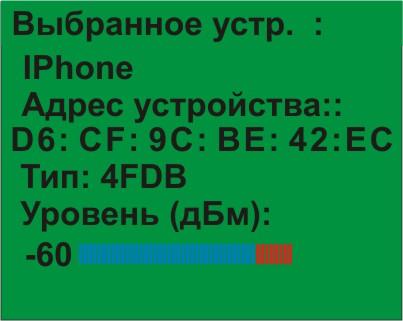 Индикатор поля ST167WB