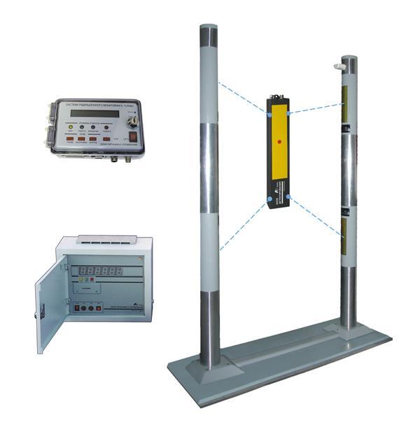 Система радиационного мониторинга ТСРМ82