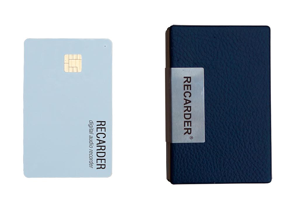 Цифровой диктофон-карточка RECARDER