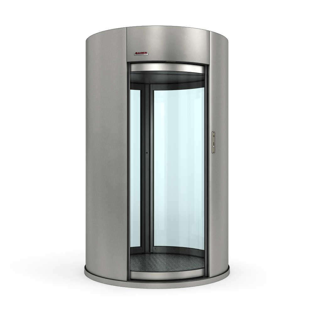 Шлюзовая кабина SAIMA Commodoor Light 3 от магазина ООО «Детектор Системс»