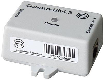 Размыкатель слаботочных линий Ethernet Соната-ВК 4.3