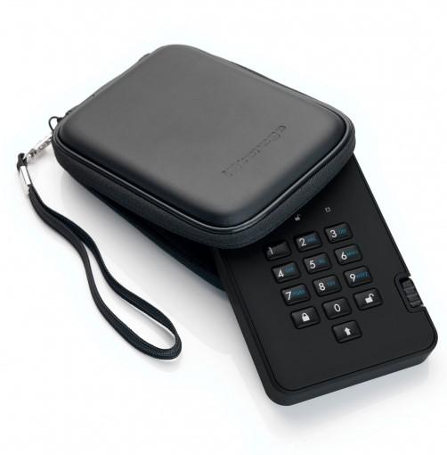 DiskAshur2 SSD 500Gb защищенный флеш-накопитель с аппаратным шифрованием данных, пин-кодом