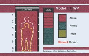 Арочный металлодетектор SmartScan C18WP