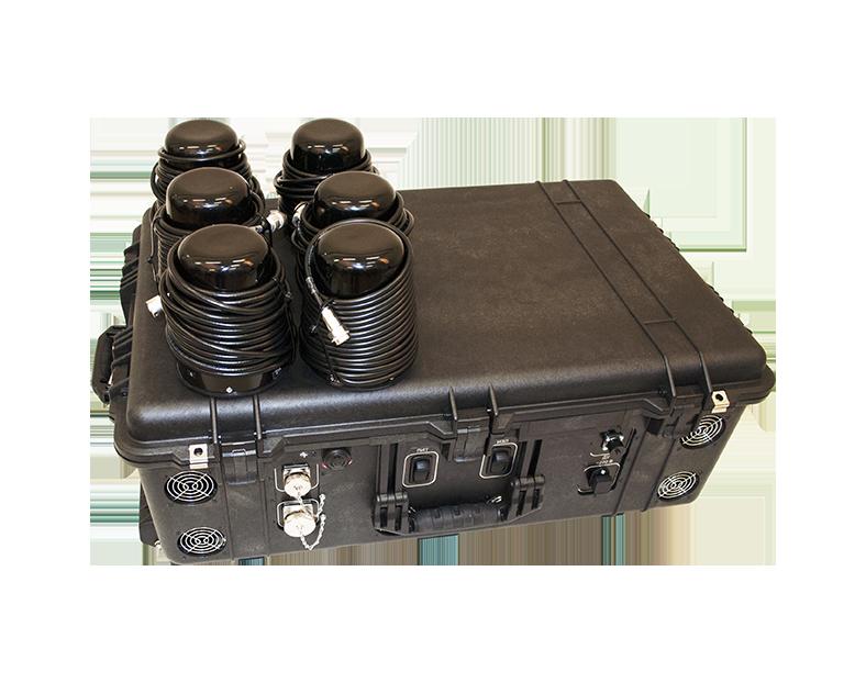 Блокираторы радиоуправляемых взрывных устройств Пелена-17