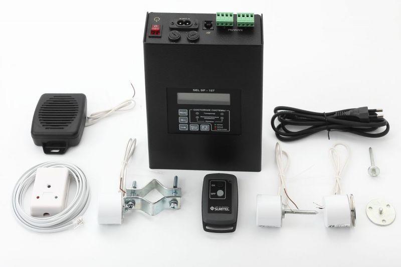 Система виброакустической защиты SEL SP-157 Шагрень