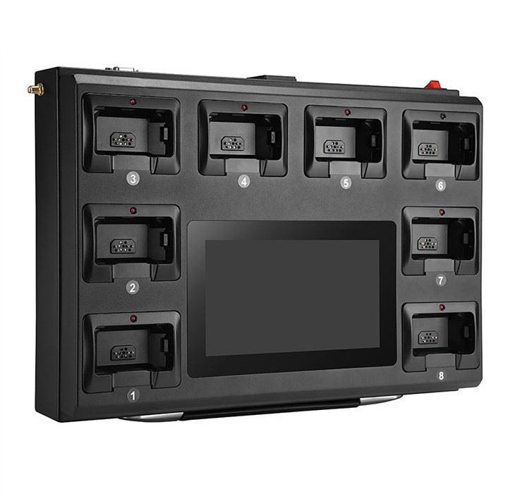 Мобильная док-станция на 8 персональных видеорегистраторов Беркут DKS-008М
