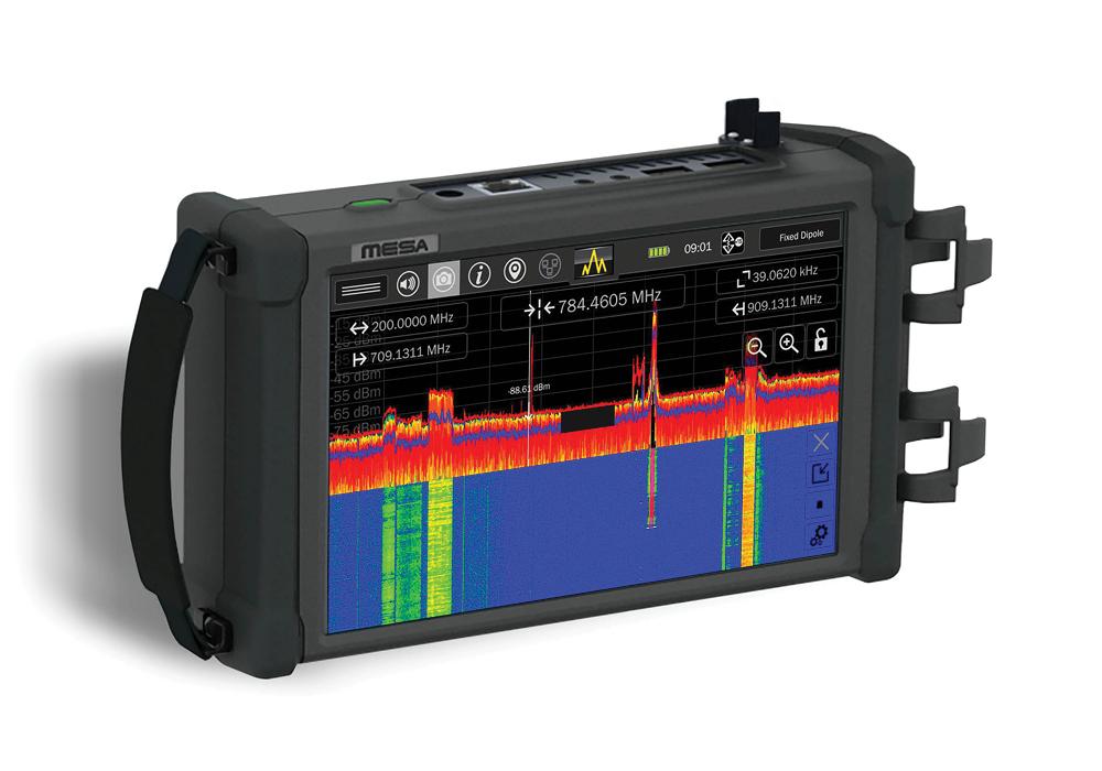 Портативный анализатор спектра MESA BASIC