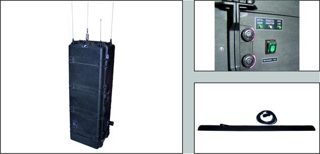 Блокираторы радиоуправляемых взрывных устройств GRIPHON-10PM