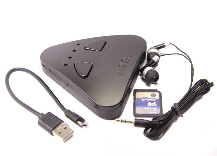 Миниатюрный стерео диктофон EDIC-mini 3D-recorder