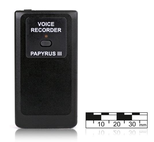 Профессиональный мини диктофон Папирус III