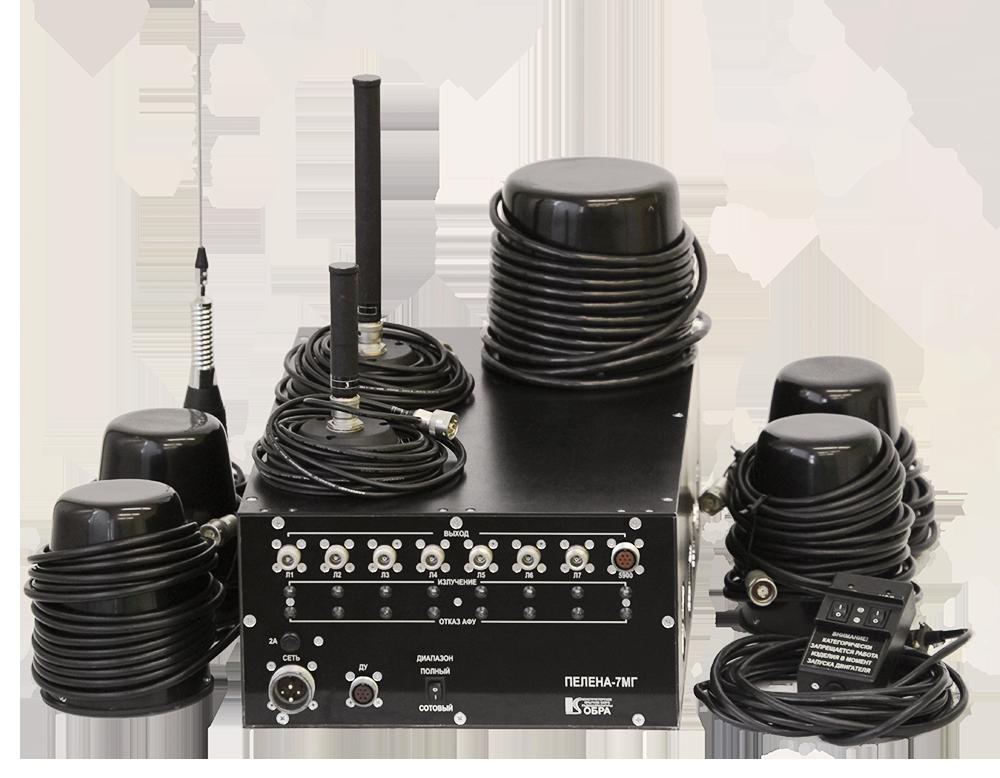 Блокираторы радиоуправляемых взрывных устройств ПЕЛЕНА 7МГ