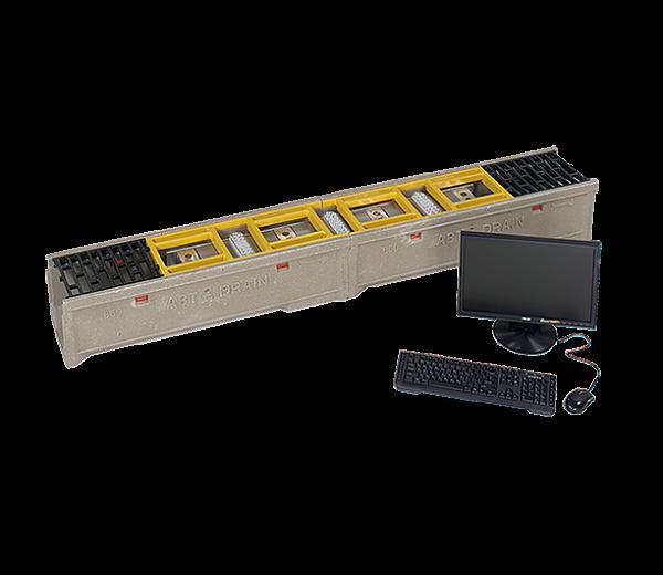 Система досмотра днища LowCam VI104