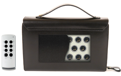 Ультразвуковой подавитель диктофонов и микрофонов Хамелеон-борсетка-12 GSM