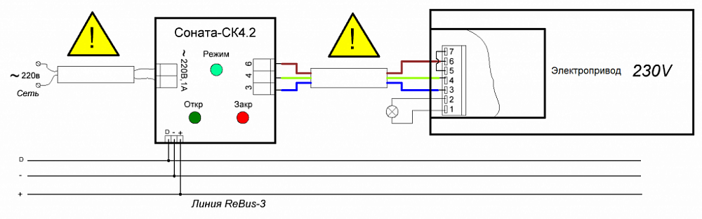 Блок сопряжения с внешними устройствами Соната-СК 4.2